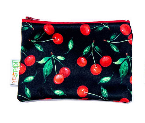 Cherries Reusable Snack Bag