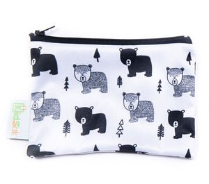 bears reusable snack bag small