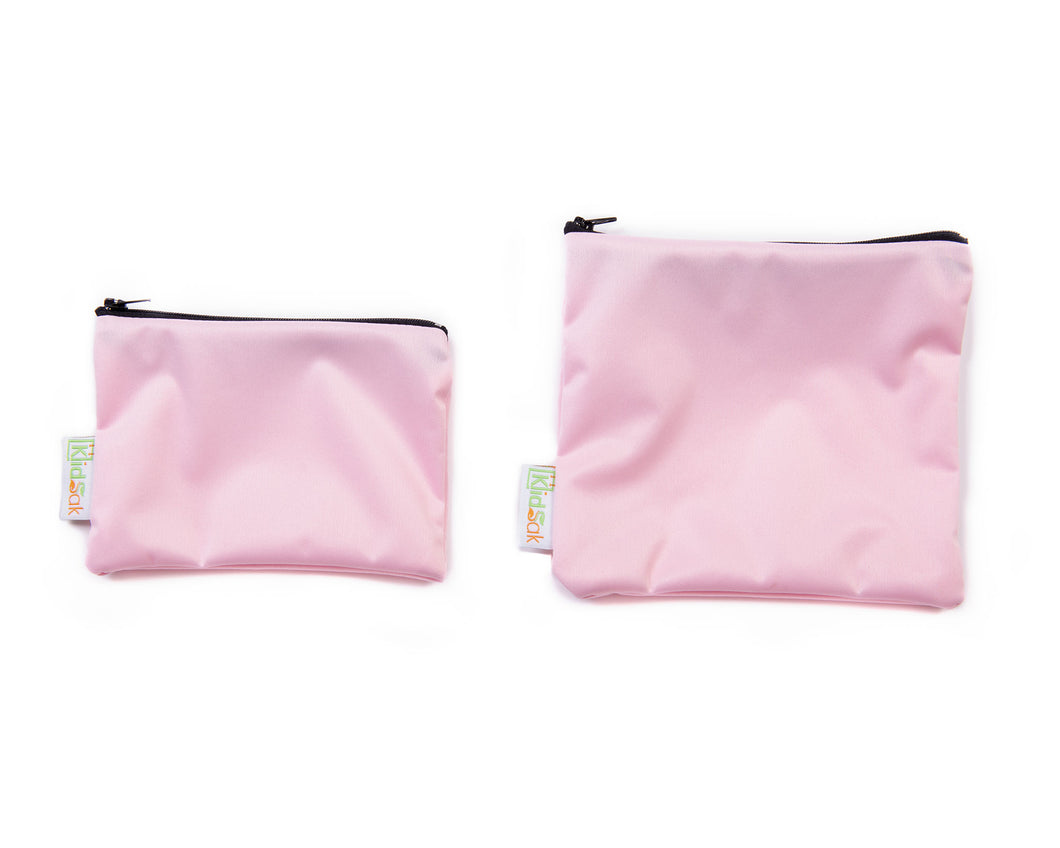Pink Snack Bag Set
