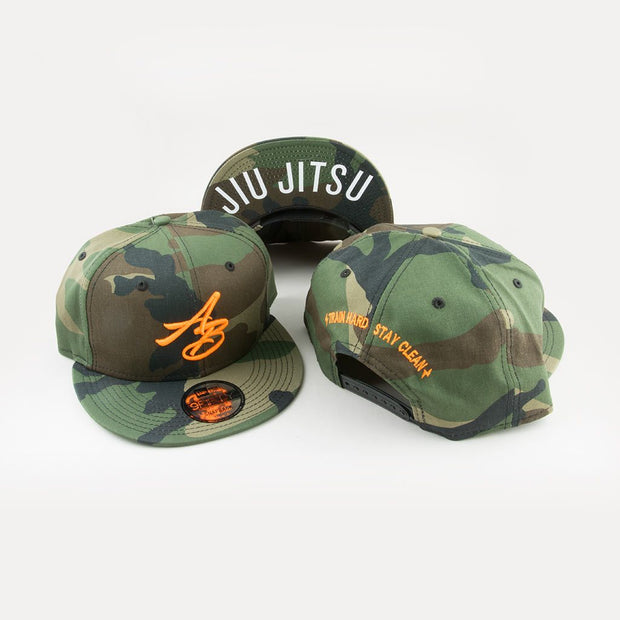 Arm Bar New Era + AB SnapBack Camo/Neo Orange