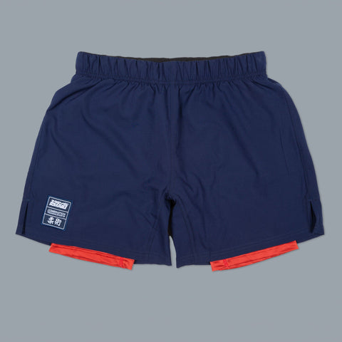 Scramble Combination Shorts – Navy/Red