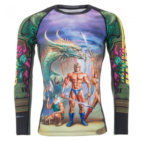 TATAMI SEGA GOLDEN AXE RASH GUARD