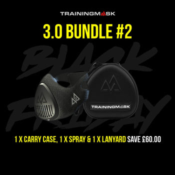 Black Friday Training Mask 3.0 Carry Case Bundle