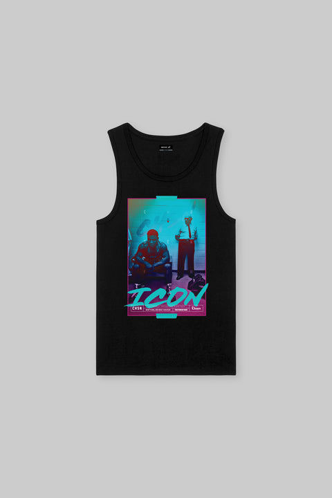 Chosen Few ICON Iron Ambition Tank Black