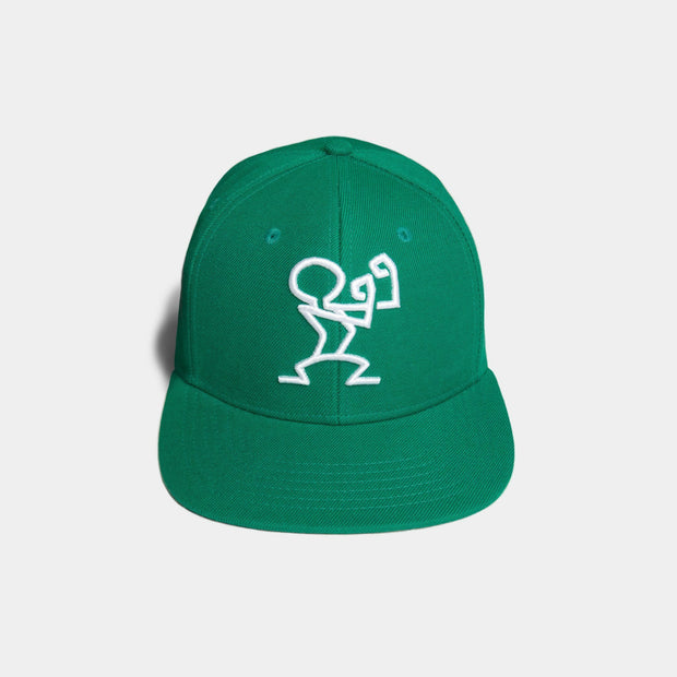 Stay Ready Snapback Green & White