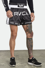 RVCA MUAY THAI - ATHLETIC SHORTS - BLACK