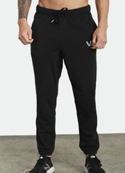 RVCA SWIFT SWEATPANTS - BLACK