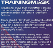 Elevation Training Mask 2.0 Filter Inserts F99