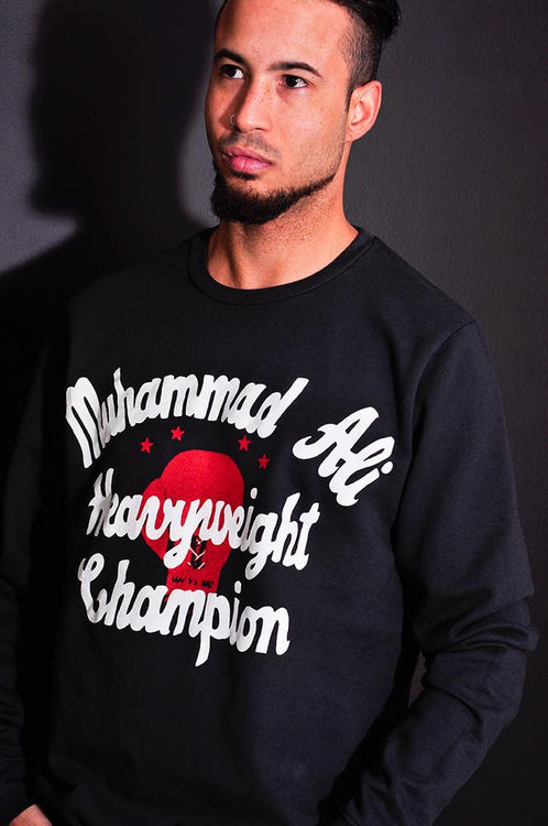 Roots of Fight Ali 66 French Terry Sweatshirt