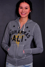 Roots of Fight Tyson Ali Bee Womens French Terry FZ Hoody