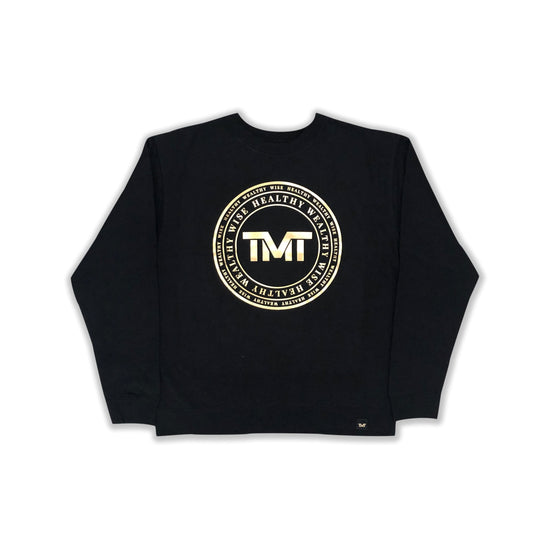 TMT ANCIENT KNOWLEDGE CREW SWEATSHIRT - BLACK