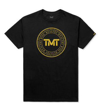 TMT ANCIENT KNOWLEDGE TEE - BLACK
