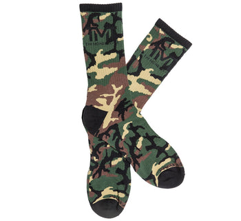 TMT UNTOUCHABLE SOCKS CAMO BROWN