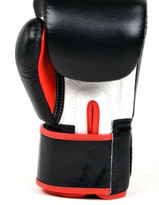 Fairtex BGV1 3-Tone Black Boxing Gloves