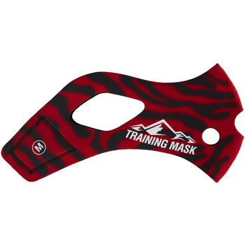 Elevation Training Mask 2.0 Red Tiger Sleeve