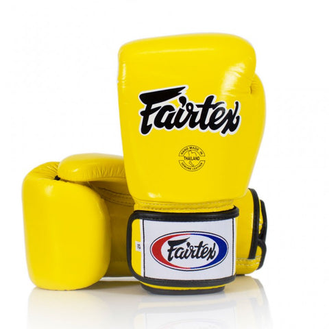 Fairtex BGV1 Yellow Universal Gloves