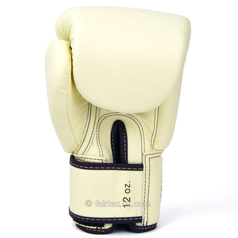 Fairtex BGV16 Khaki Leather Boxing Gloves
