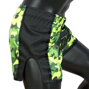 Fairtex BS1710 Green Camo Slim Cut Muay Thai Shorts