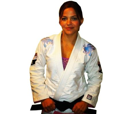 DO OR DIE Hyperfly Gi Koifish Womens - White w/ Pink Trim