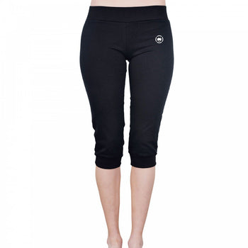 Dethrone Womens Fitness Pants Short Black