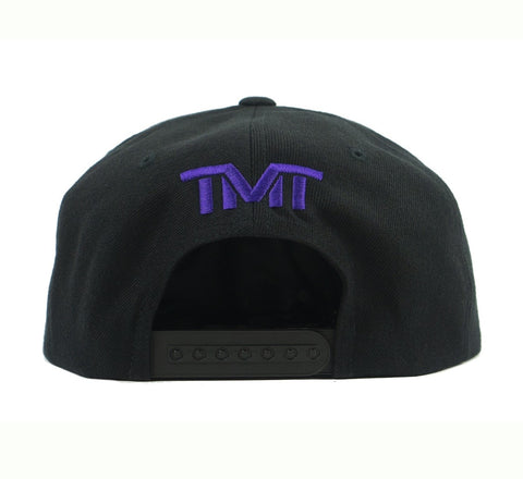 TMT Court Side Snapback Black/Purp