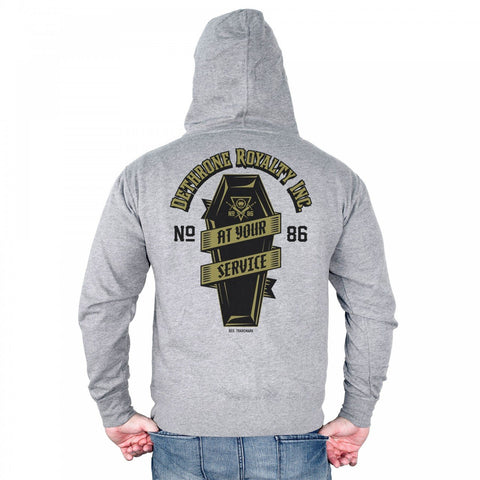 Dethrone At Your Service Hoodie Grey