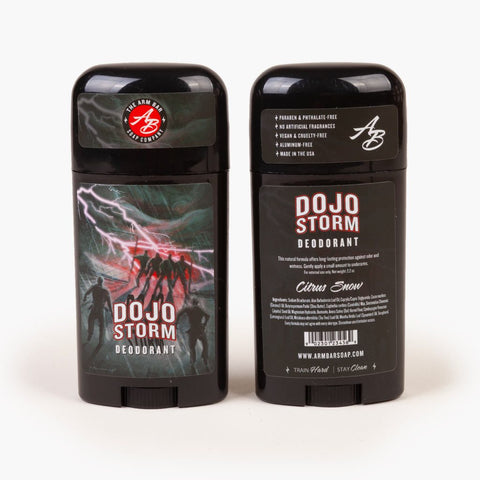 ARM BAR SOAP - DOJO STORM DEODORANT - CITRUS SNOW