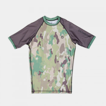 Dethrone RashGuard -Camo