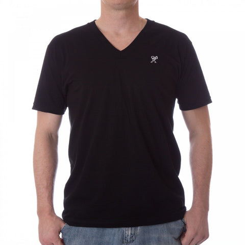Dethrone Ready V Neck Black
