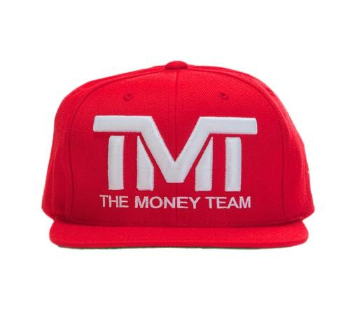 TMT Court Side Snapback Red/White