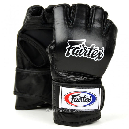 FGV12 Fairtex Black Ultimate MMA Gloves