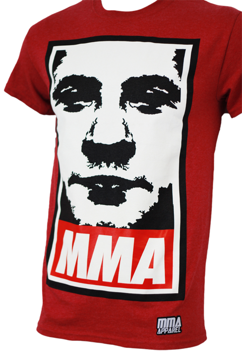MMA Apparel Fedor Obey Tee Red