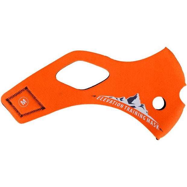 Elevation Training Mask 2.0 Solid Orange Sleeve