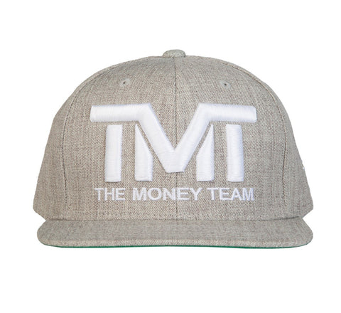 TMT Court Side Snapback Grey/White