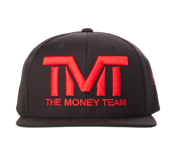 TMT Court Side Snapback Black/Red