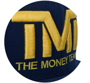 TMT Court Side Snapback Navy/Yellow