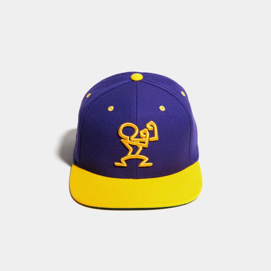 Stay Ready Snapback Purple & Gold