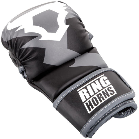 Ringhorns Charger MMA Sparring Gloves Black/White