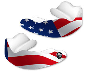 Fight Dentist Mouthguard Stars & Stripes