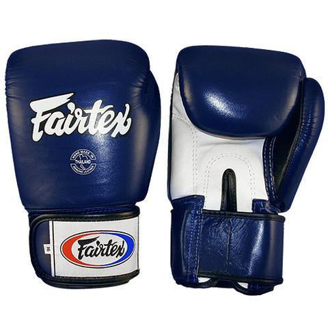 Fairtex BGV1 3-Tone Blue Boxing Gloves