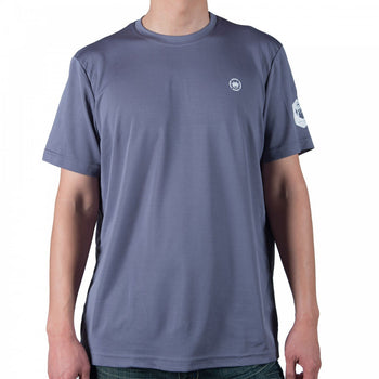 Dethrone Performance tee Steel