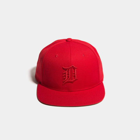 Dethrone D SnapBack Red