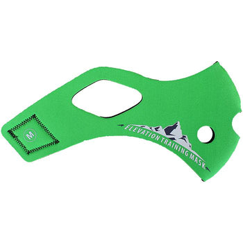 Elevation Training Mask 2.0 Solid Green Sleeve