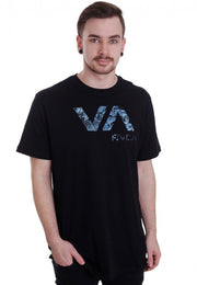 RVCA Tropic Doom Black Tee