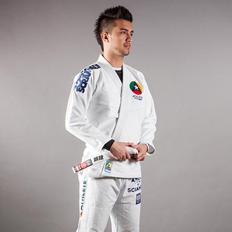 Scramble Athlete Gi White