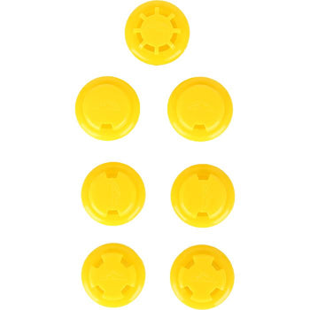Elevation Training Mask 2.0 Yellow Resistance Valves