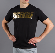 Scramble Gold logo T-Shirt - Black