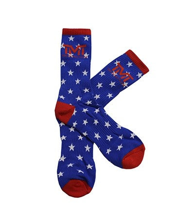 TMT MONEY DREAMS SOCKS RED/BLUE