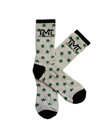 TMT MONEY DREAMS SOCKS WHITE\GREEN