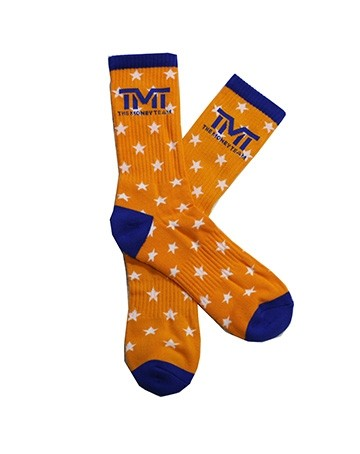 TMT MONEY DREAMS SOCKS ORANGE/BLUE